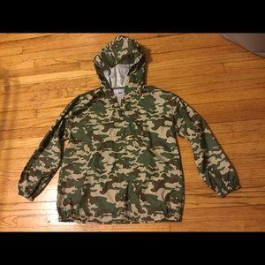 Zara raincoat isolated hoodie size S